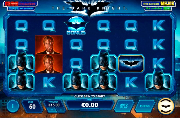 dark knight playtech slot: play