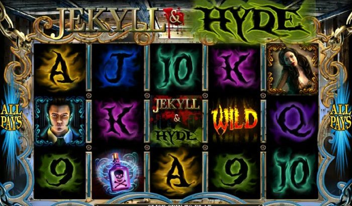 Jekyll and Hide Slot by Playtech: logo