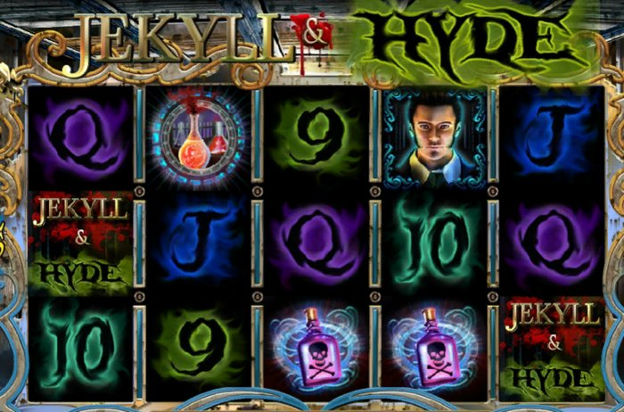 Jekyll and Hide Slot by Playtech: spin