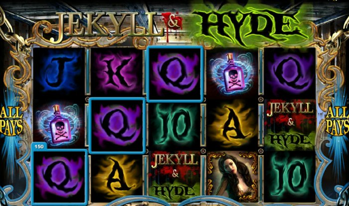 Jekyll and Hide Slot by Playtech: win