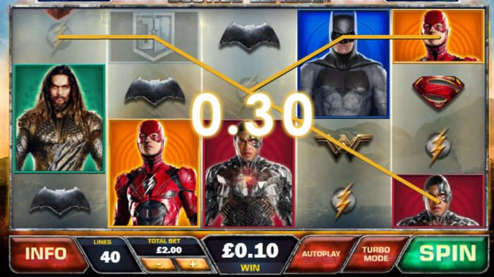 Justice League Slot by Playtech