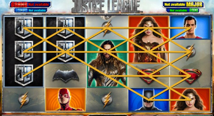Justice League Slot: payouts