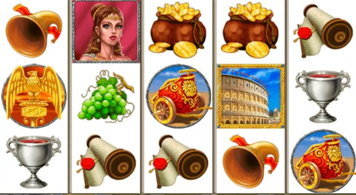 Rome and Glory Slot by Playtech
