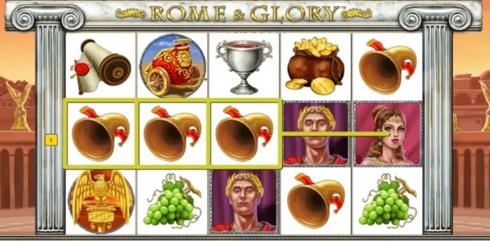 Rome and Glory Slot - how to win