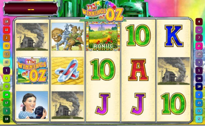 Winnings of Oz Slot by Playtech