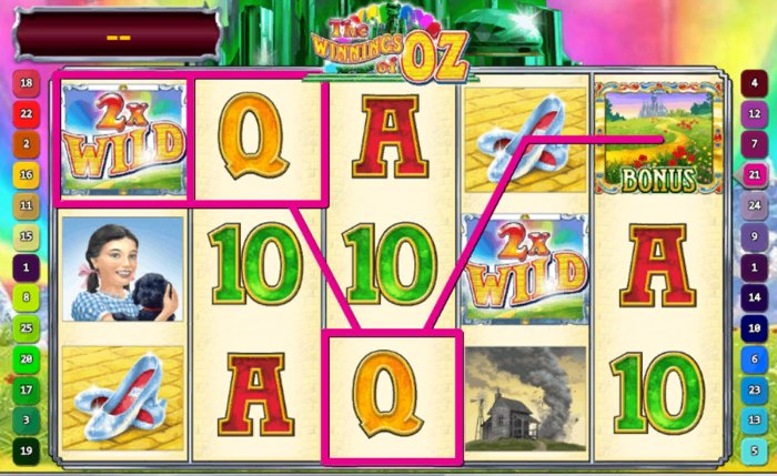 Winnings of Oz Slot - try to win