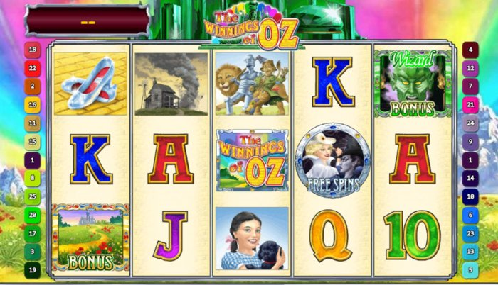 Winnings of Oz Slot